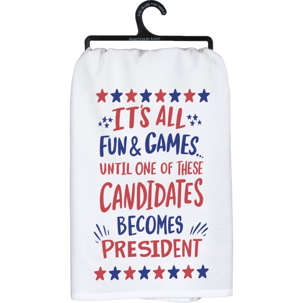 Tea Towel - It's All Fun & Games