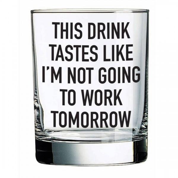 This Drink Tastes Like 14oz Liquor Glass