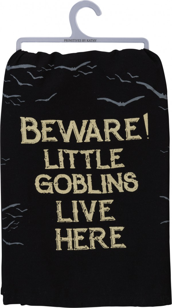 Tea Towel - Little Goblins Live Here