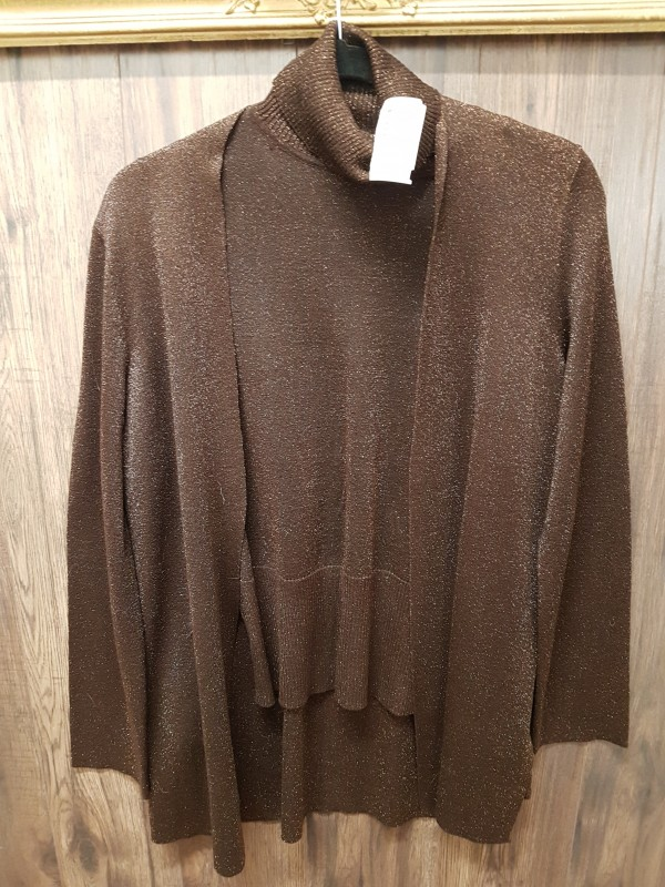 Brown Sweater set Nygard size 10-12