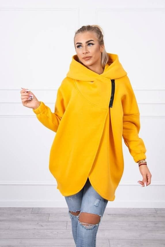 Mustard One Size Hoodie
