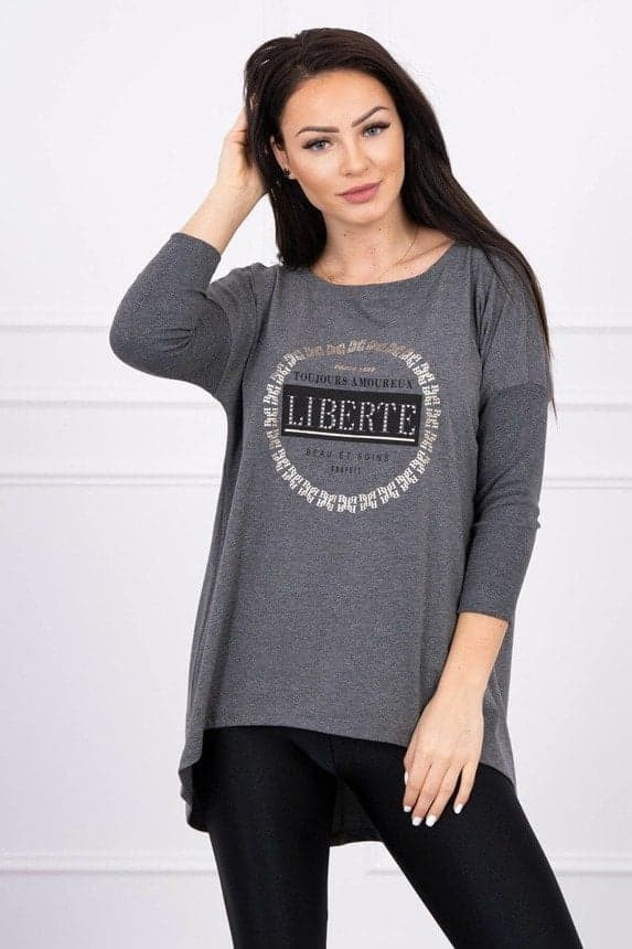 Grey Liberte One Size Top