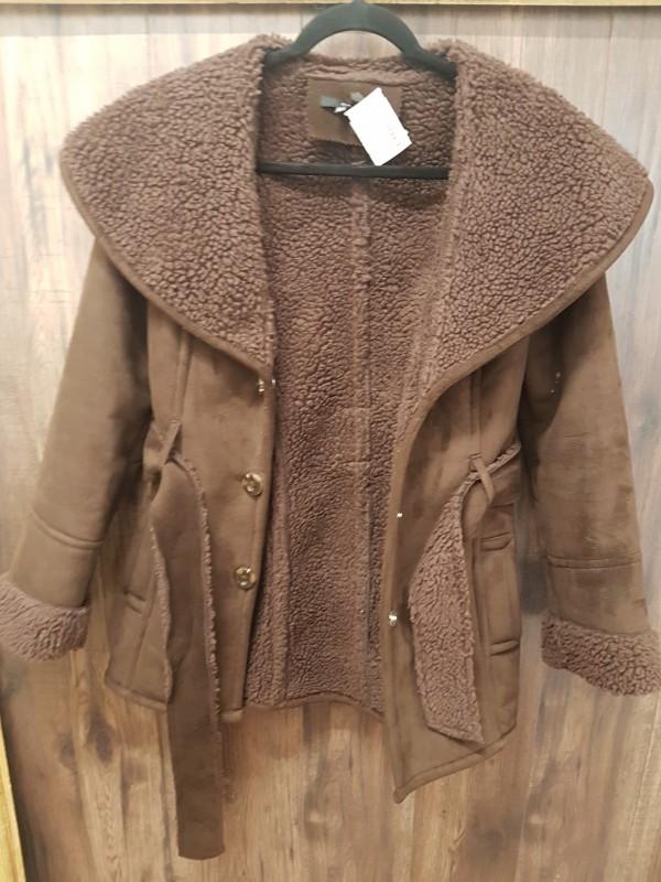 Brown Coat Zara size S
