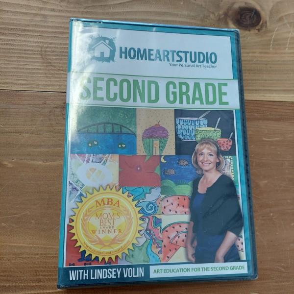 Home Art Studio DVD Second Grade with Lindsey Volin