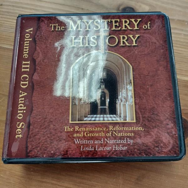 Mystery of History Vol 3 CD Audio Set