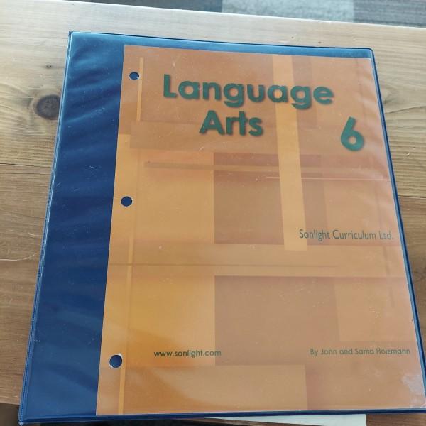 Sonlight Language Arts 6 Instructors Guide