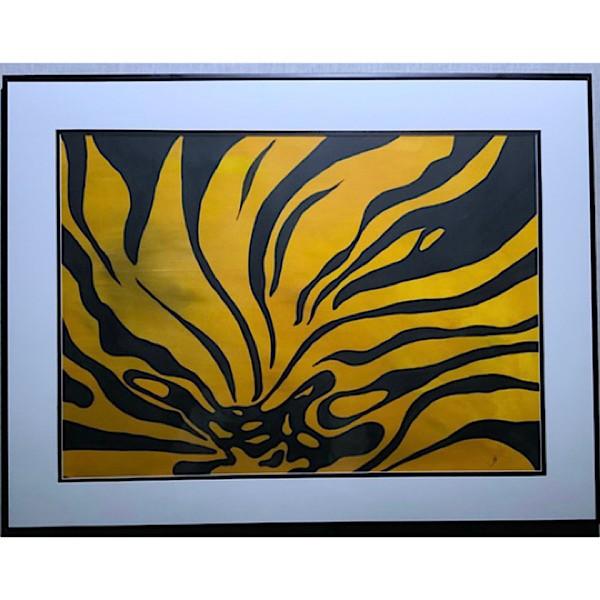 Lion Bloom, Original Watercolour, Featured Artist