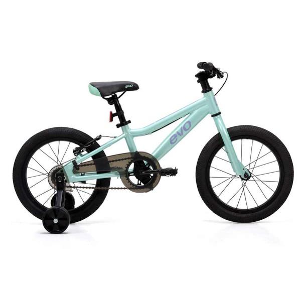Evo Rock Ridge 16 Kids Bike, Mint