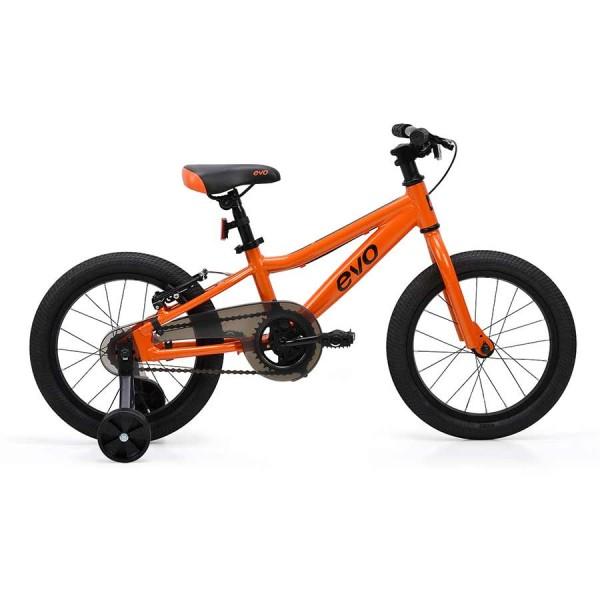 Evo Rock Ridge 16 Kids Bike, Orange