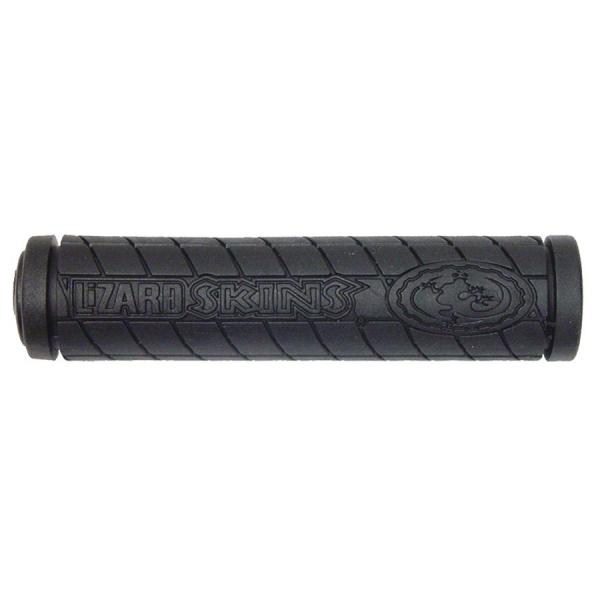 Lizard Skins, Logo Single Compound, Grips, 130mm, Black, Pair