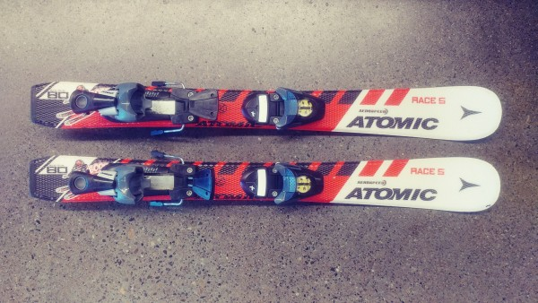 Atomic Race 5 Jr Skis + RO45+ Bindings