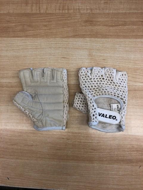 Valeo Crochet Fingerless Padded Cycling Gloves