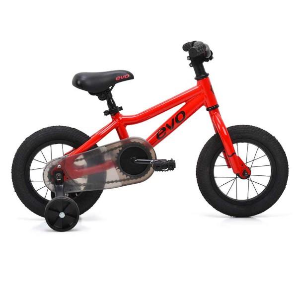 Evo Rock Ridge 12 Kids Bike, Red