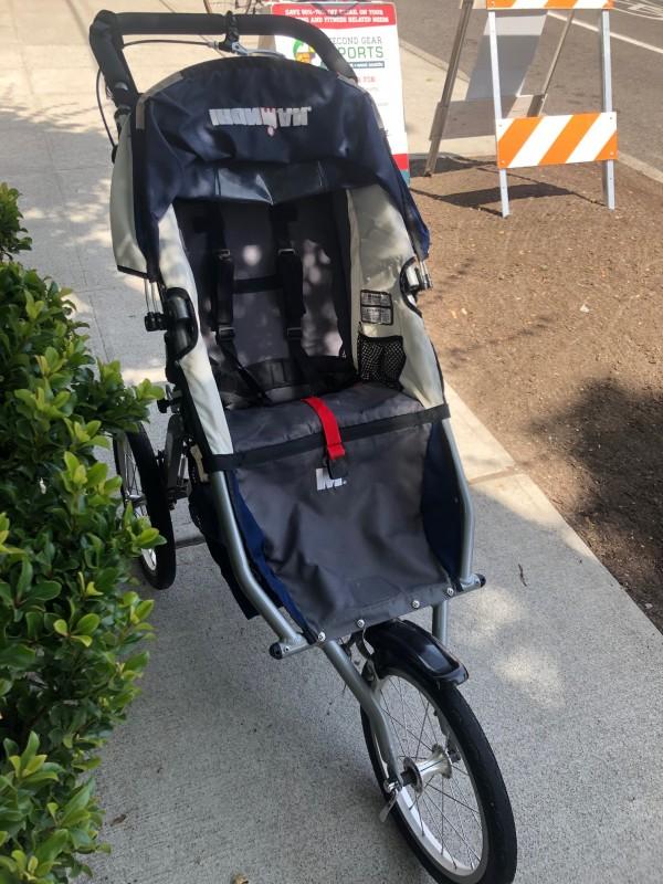 BOB Ironman Single Jogging Stroller