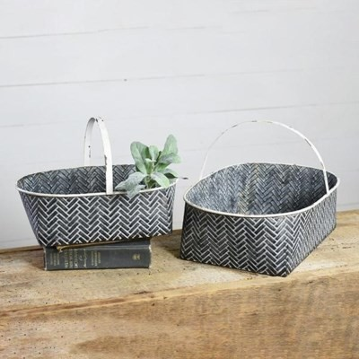 HX14092 TIN BASKET