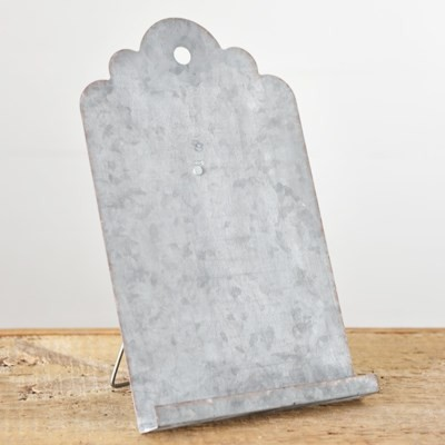 HX14225 OLD TIN EASEL DISTRESSED
