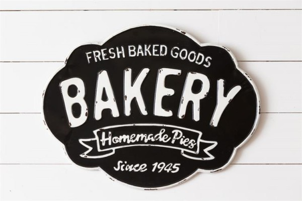 8WH776 Sign - Fresh Baked Goods
