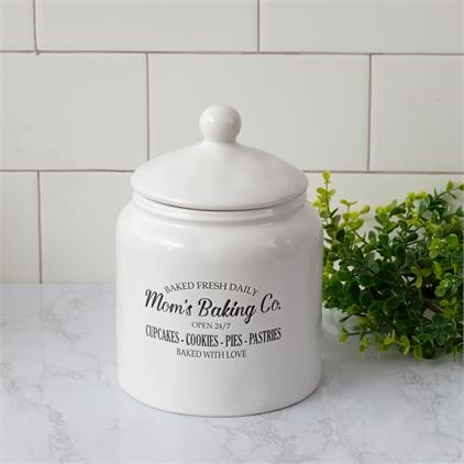 8PT1313 Cookie Jar - Mom's Baking Co.