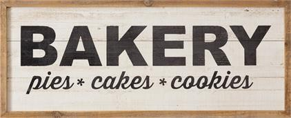 8W2685 Sign - Bakery Pies Cakes Cookies