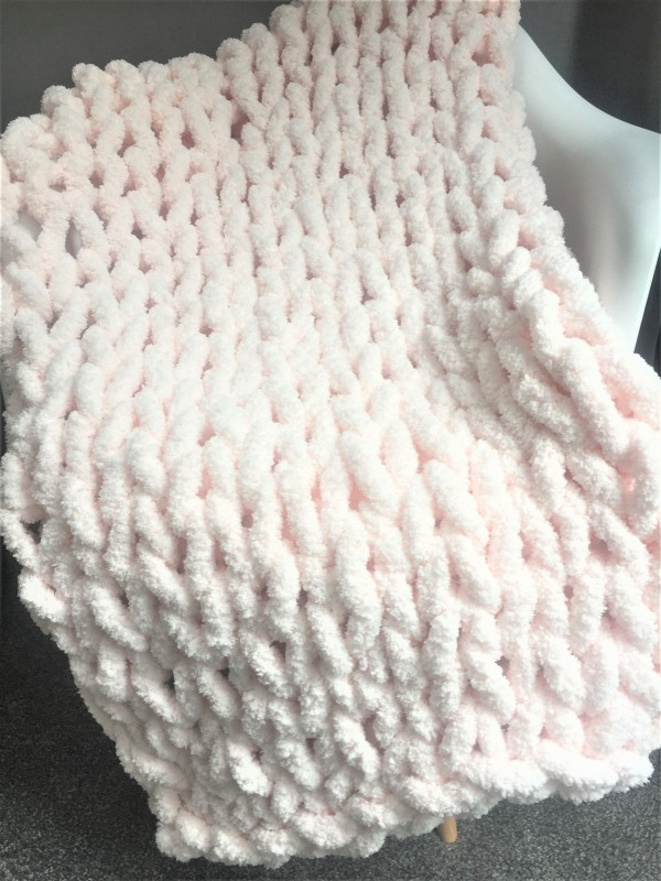 03-20-21 Chunky Blanket Class w/ Maria