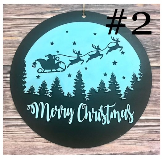 11-6-21 10AM Class - Christmas/Winter Sign Painting