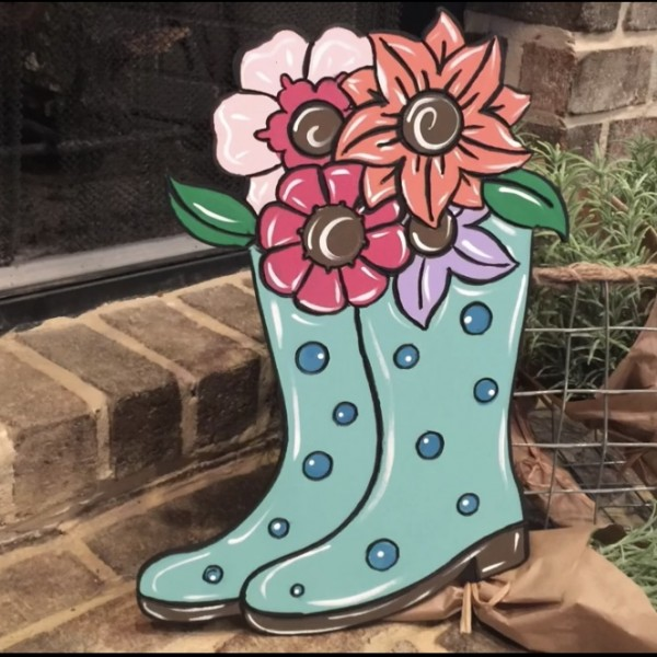Rain Boots Painting Event 11AM