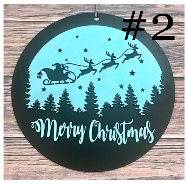 11-17-21 Class - Christmas/Winter Sign Painting