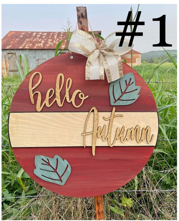 10-9-21 Class @ 10am - Fall Sign Painting