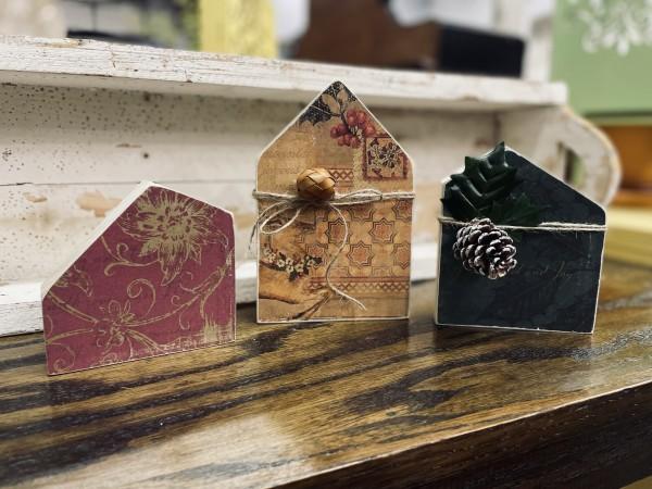12-8-21 Class - Christmas House Blocks