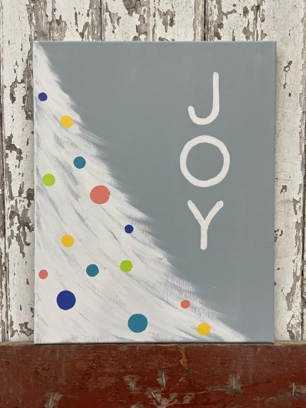 12-4-21 Kid's Class - JOY Canvas Painting