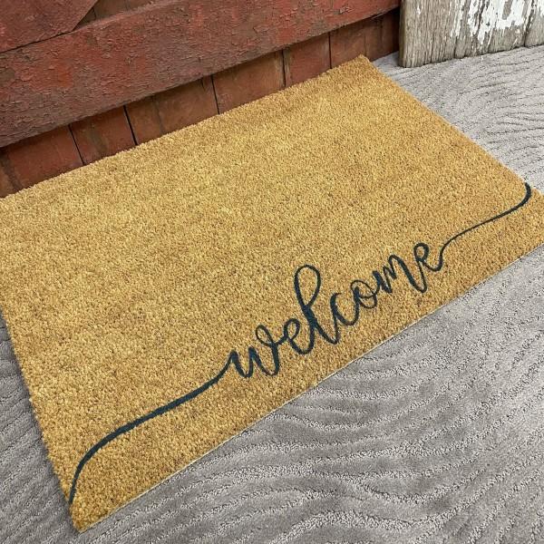 9-13-21 Class - Welcome or Hello Doormat