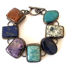 Multi-Stone Bracelet by Yanina Siani (Jewelry)