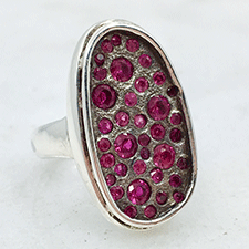 Ruby Ring by Virginia DeNale (Jewelry)