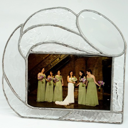 Oval Frame by Jill Tarabar (Stained Glass)