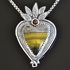 Heart Pendant by Monique Perry (Jewelry)