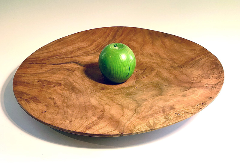 Wooden Turned platter by Alan Adler (Wood)
