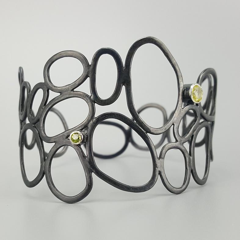 Open Form Bracelet by Adrienne Neszmelyi-Romano (Jewelry)