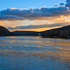 Delaware River Sunset by Donald Schoenleber (Photography)