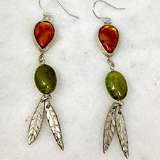 Earrings by Virginia DeNale (Jewelry)