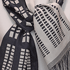 Black and White Scarf by Marilynn Cowgill (Weaver)