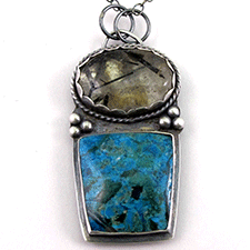Multi-Stone Pendant by Yanina Siani (Jewelry)