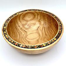 Pencil Bowl by Alan Adler (Wood)