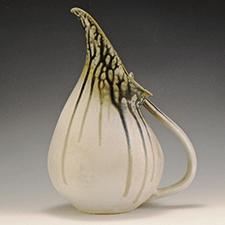 Pitcher by Marian Van Buren (Pottery)