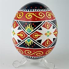 Pysanka Egg by Basia Andruska (Pysanka)