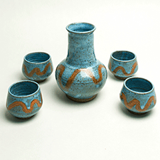 Sake Set by Caryn Newman (Pottery)