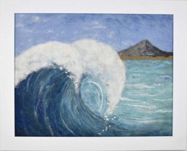 NG Wool painting -- Big Blue
