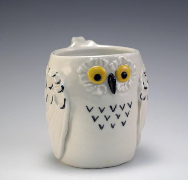 MVB Mug, Snowy Owl, Porcelain