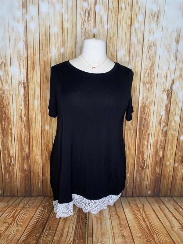 Zenana 2x black tunic