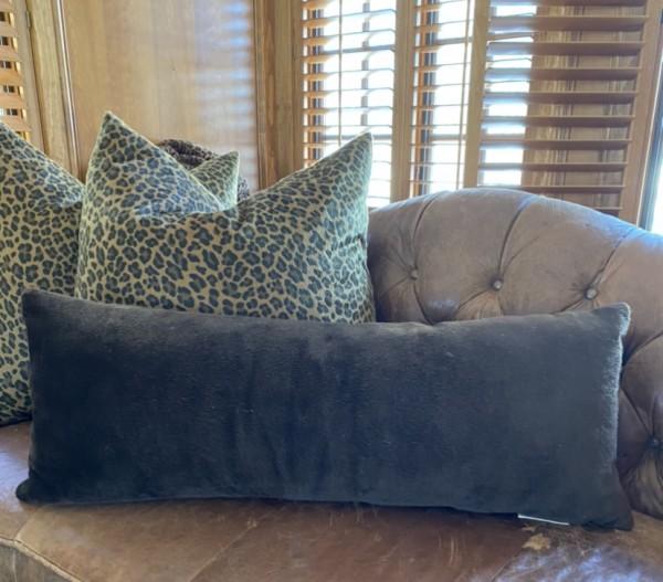 Brown Lumbar Pillow