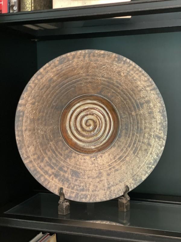 Clay/Ceramic Round Decorative Plate